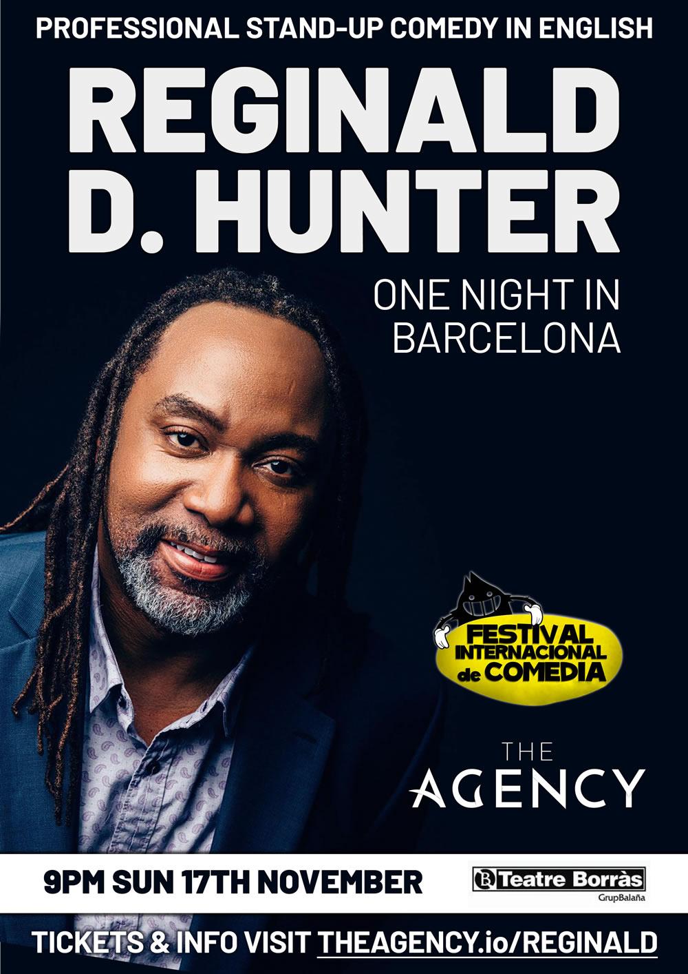 Reginald D. Hunter Live Stand-up in Barcelona