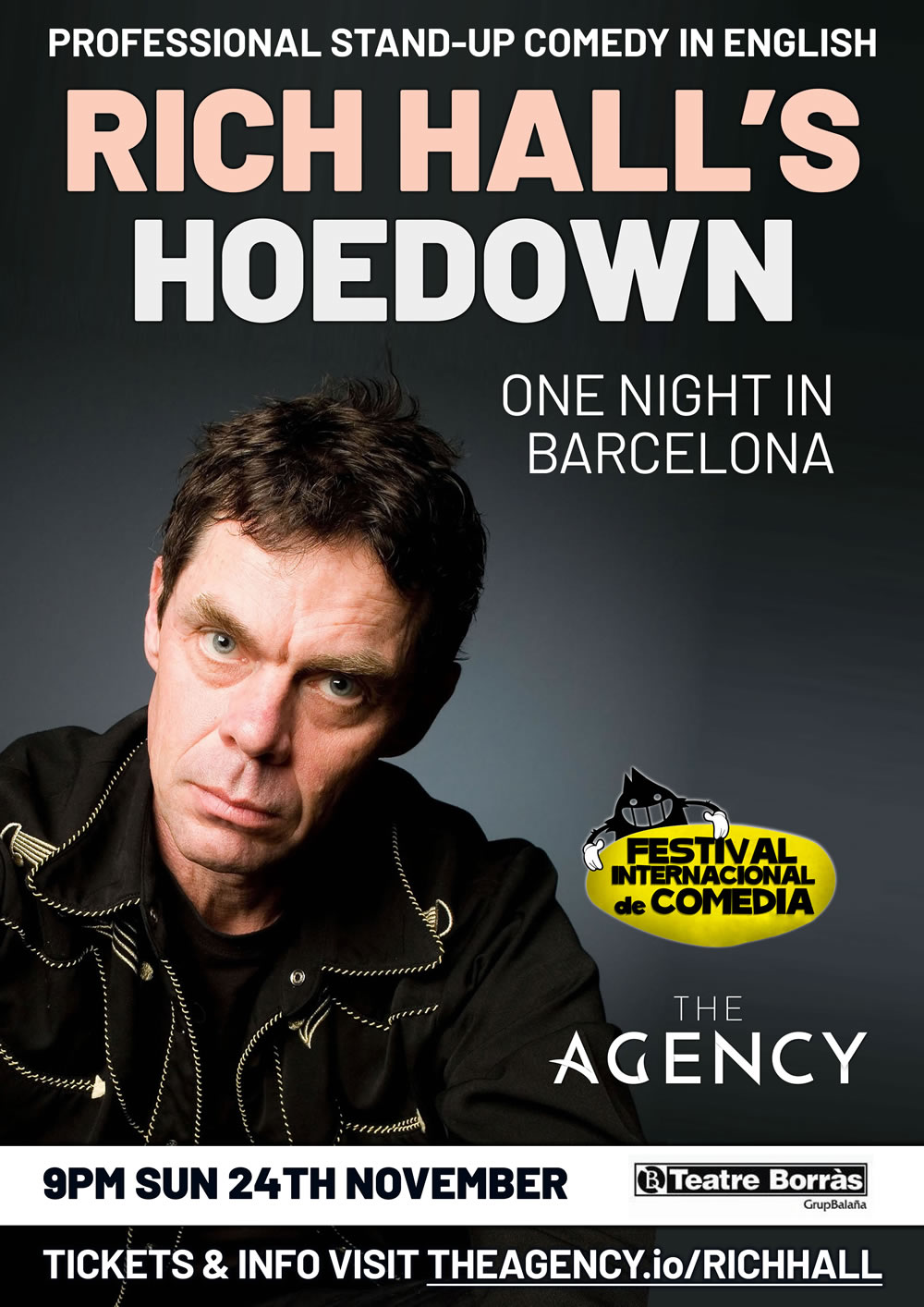 Rich Hall Live Stand-up in Barcelona