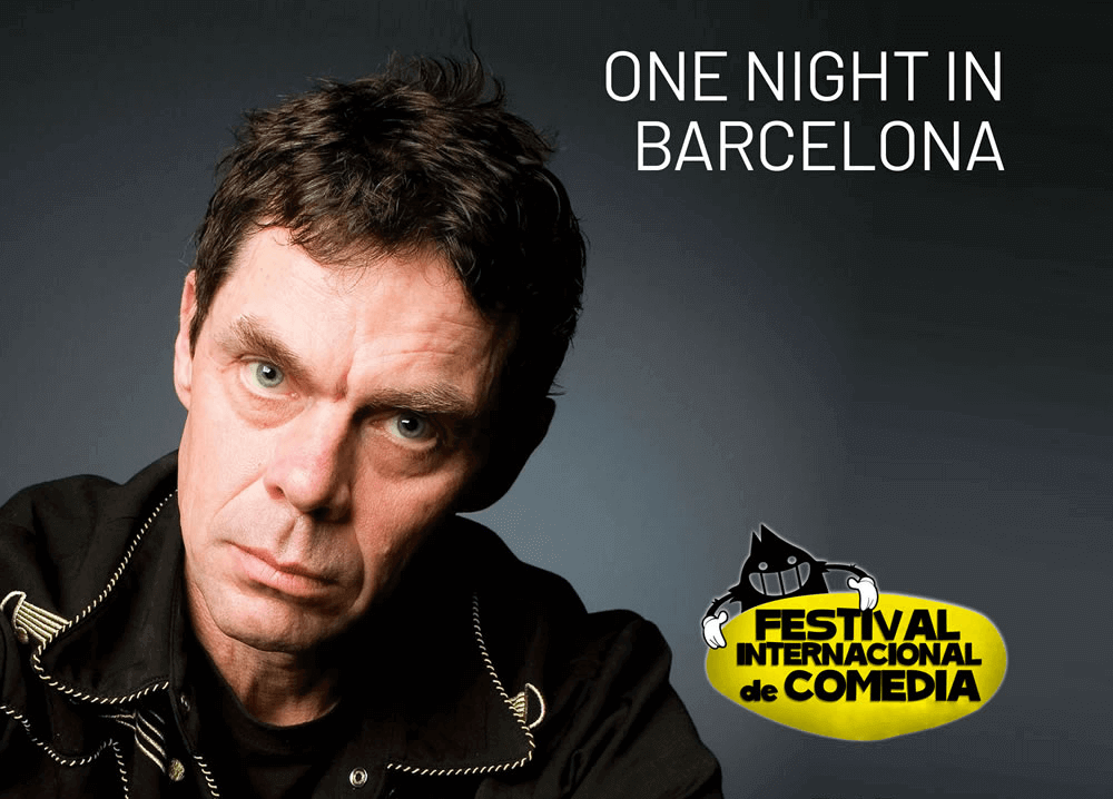 Rich Hall Live Stand-up in Barcelona-show